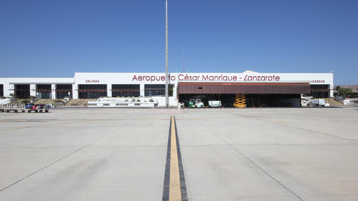 Aeropuerto César Manrique-Lanzarote.
