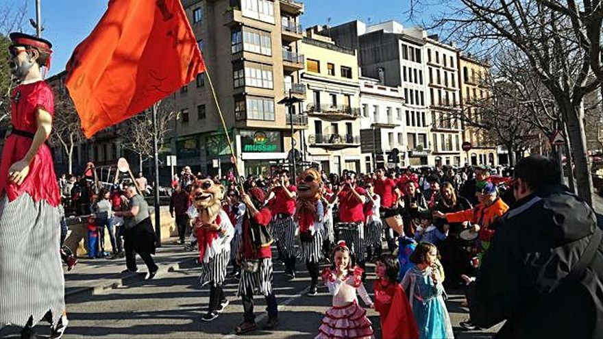Cercavila al centre de Girona