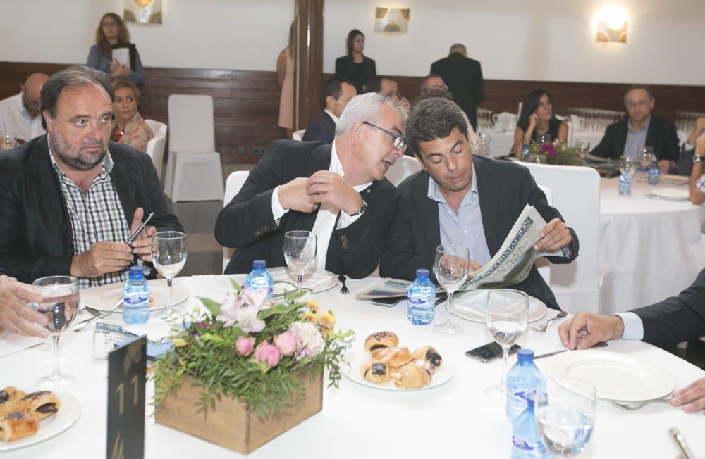 Joaquín Garrido, Rafael Espuch y Carlos Mazón