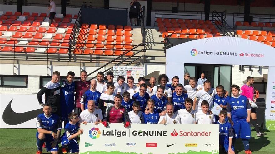 El equipo de la Fundación cierra su participación en LaLiga Genuine