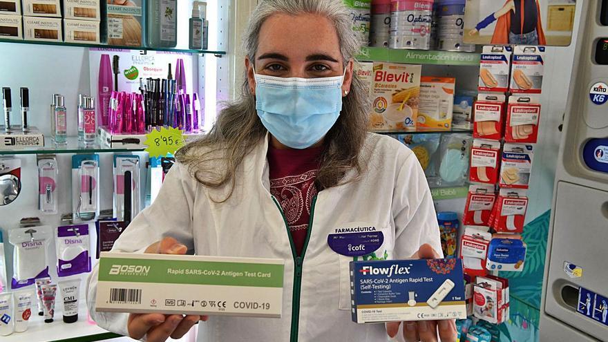 Las farmacias ya venden test de antígenos sin receta