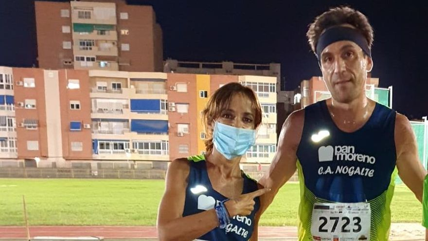 Mar Gómez y Mario Molina, dos veteranos en el Campeonato de España cross
