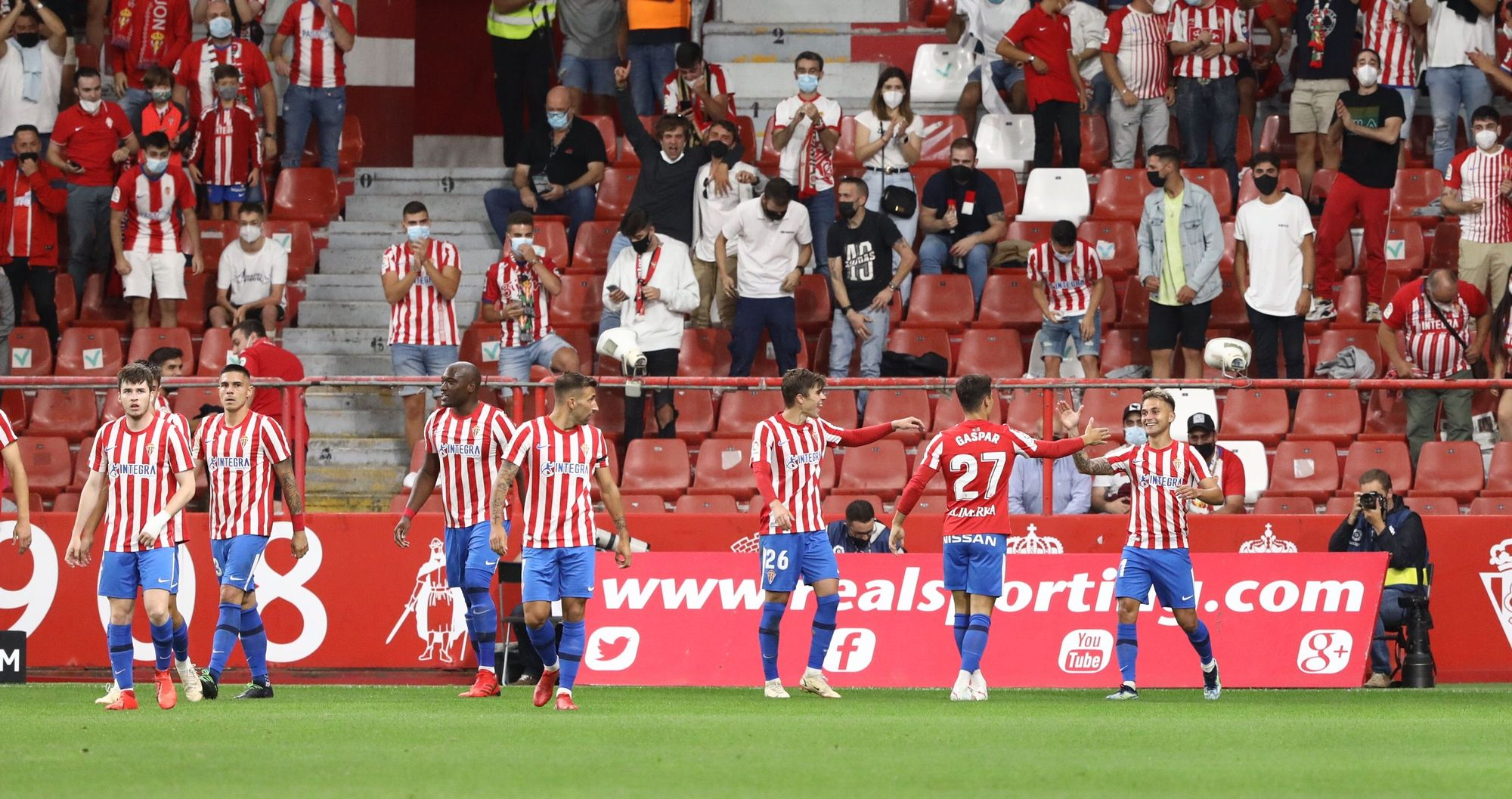 EN IMÁGENES   Así fue la victoria del Sporting ante el Leganés