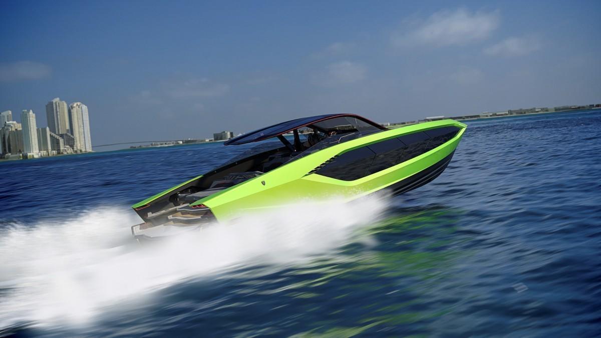 Lamborghini presenta su nuevo yate a motor con 2.000 cv de potencia