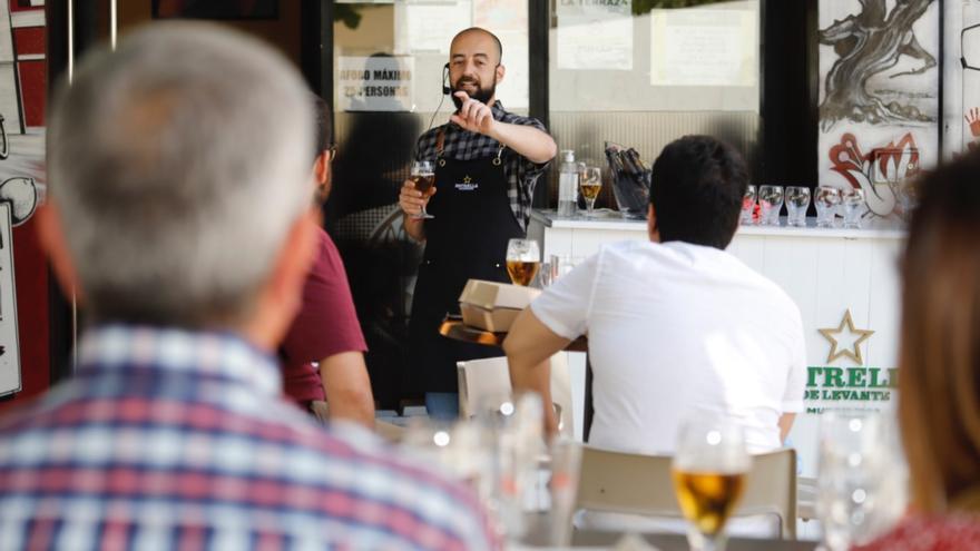 Estrella de Levante ofrece seis catas con maridaje en Los Huertos por la Feria de Murcia