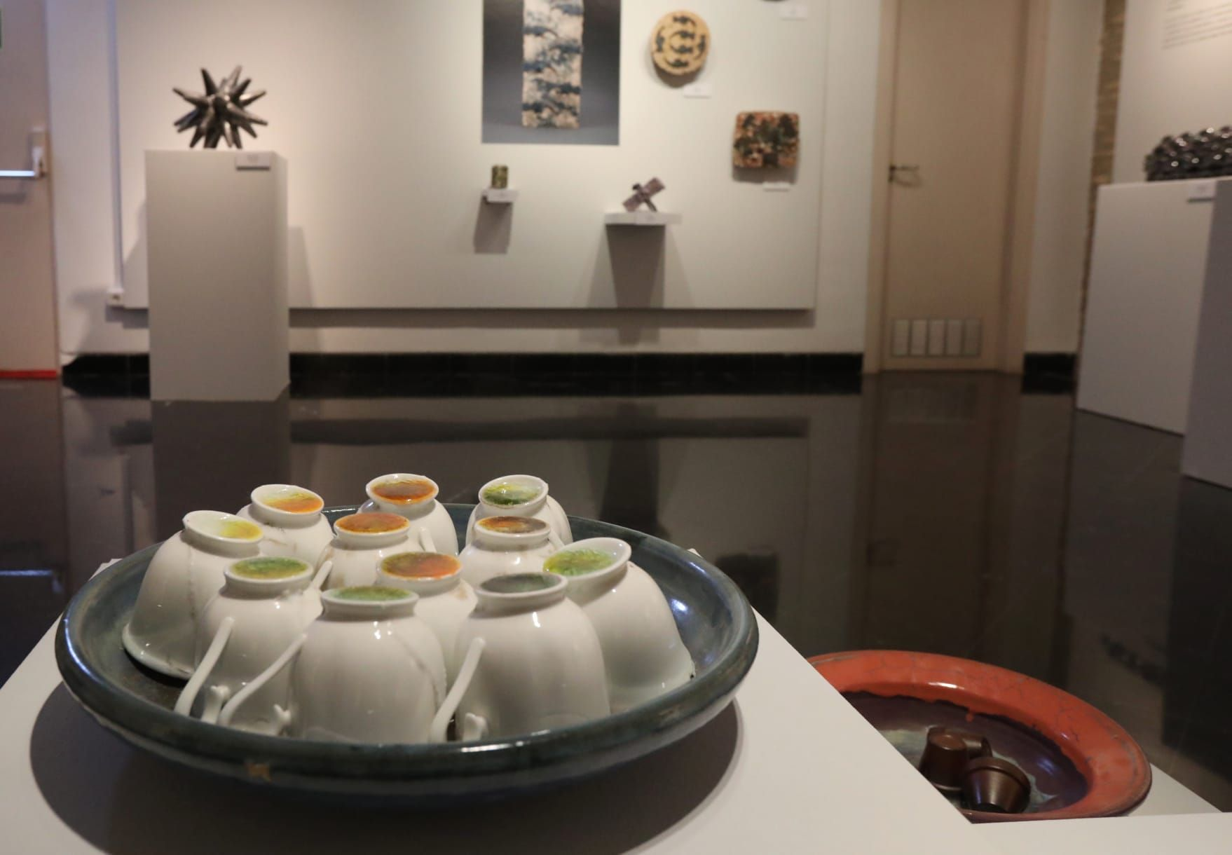 El Torreón Fortea acoge la obra de Mark Gordon titulada 'Cerámica Vida'