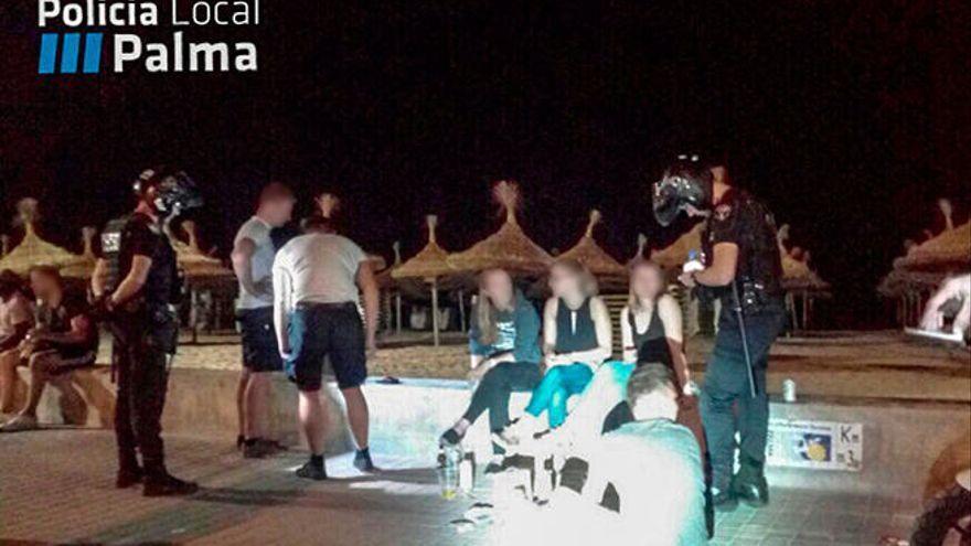 Cort destina en exclusiva 82 policías al refuerzo de verano