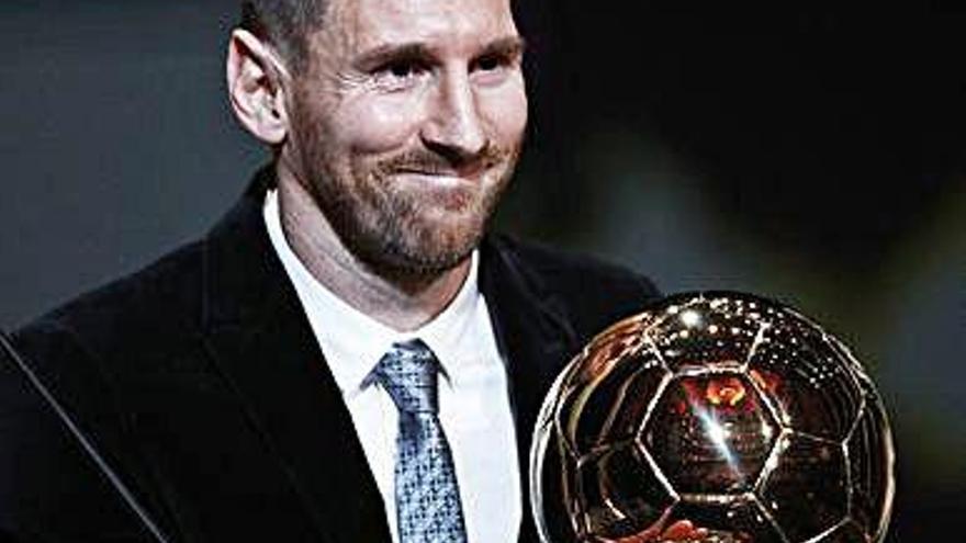 El sexto de Messi