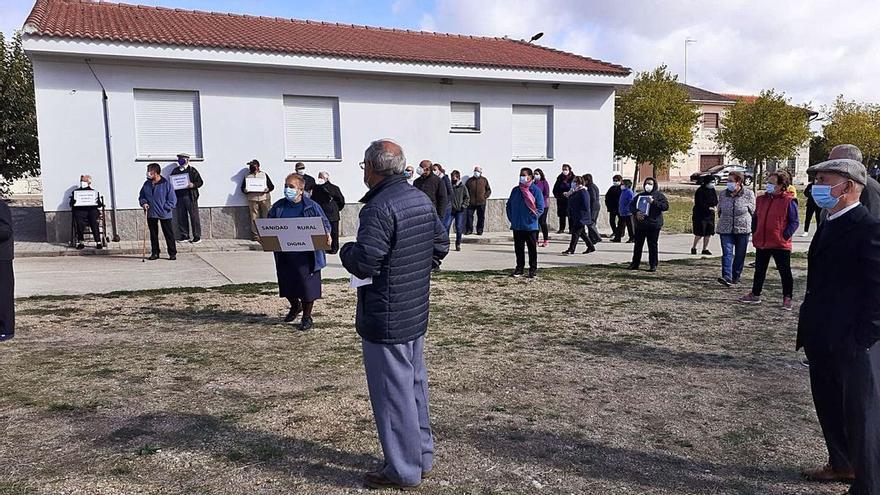 Nuevas concentraciones del Movimiento en Defensa de la Sanidad Pública en Zamora: Sayago