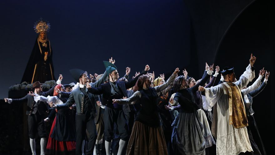 La Bella Otero vuelve a bailar, ahora en el Teatro de la Zarzuela