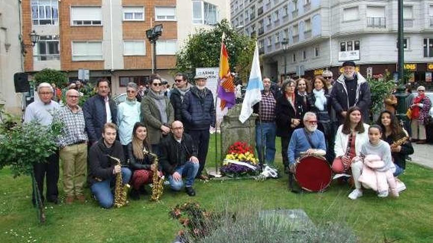 Acto homenaje por el aniversario de la República en Marín