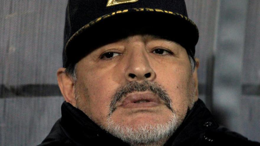 """Maradona: """"Fui a la clínica a hacerme resonancias, no pasó nada"""""""