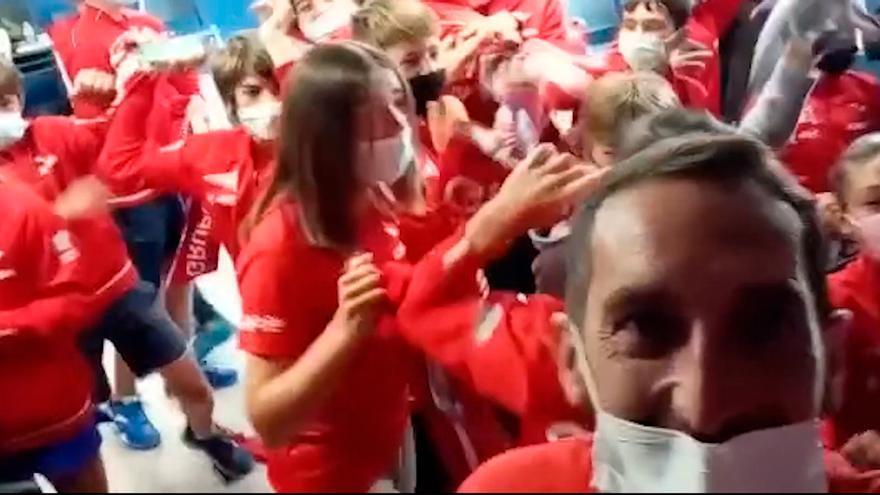 """El Grupo Covadonga vibra con la victoria de Carreño: """"Es un verdadero orgullo para nosotros"""""""