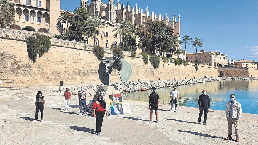 Marcha artística en Palma para impulsar el arte emergente
