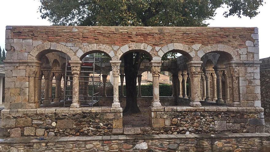 Peralada recupera el Claustre Sant Domènec en tota la seva esplendor