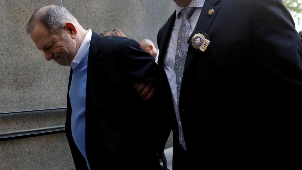 Harvey Weinstein, detenido