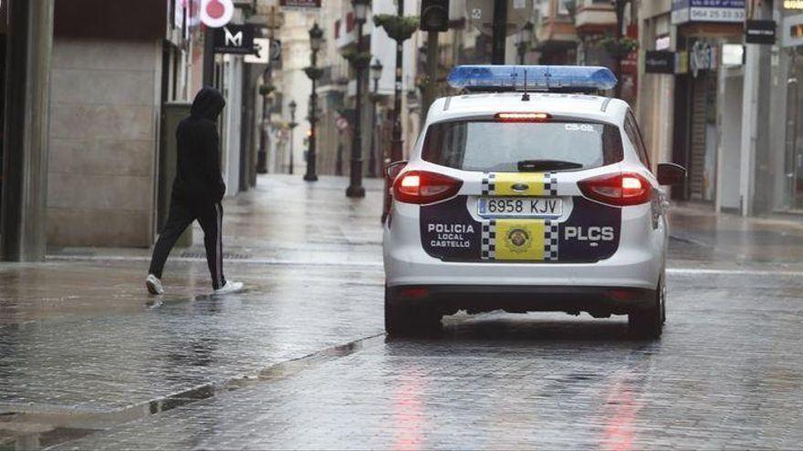 La Policía Local de Castelló impone 78 denuncias en la última semana por vulnerar las medidas 'anticovid'