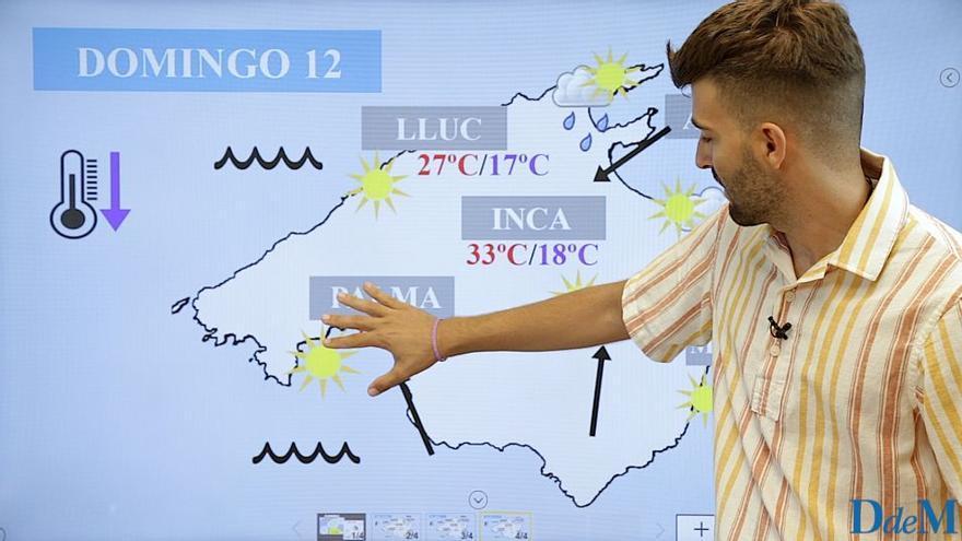 El tiempo del fin de semana en Mallorca: aviso por aguaceros y tormentas