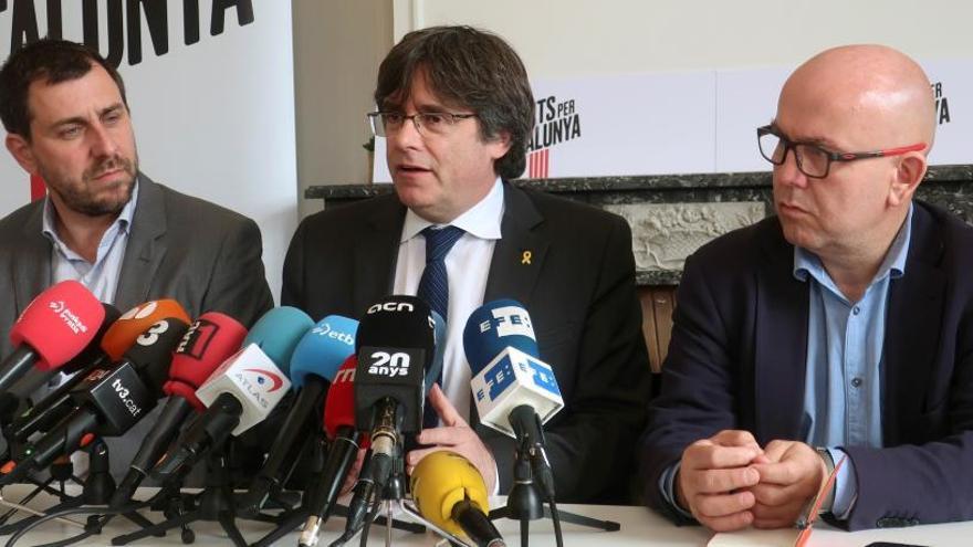El Suprem retorna al jutjat de Madrid el recurs de Puigdemont, Ponsatí i Comín i constata que són elegibles