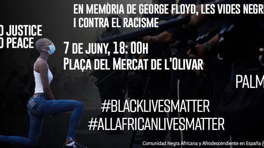 Auch auf Mallorca findet eine Anti-Rassismus-Demo statt