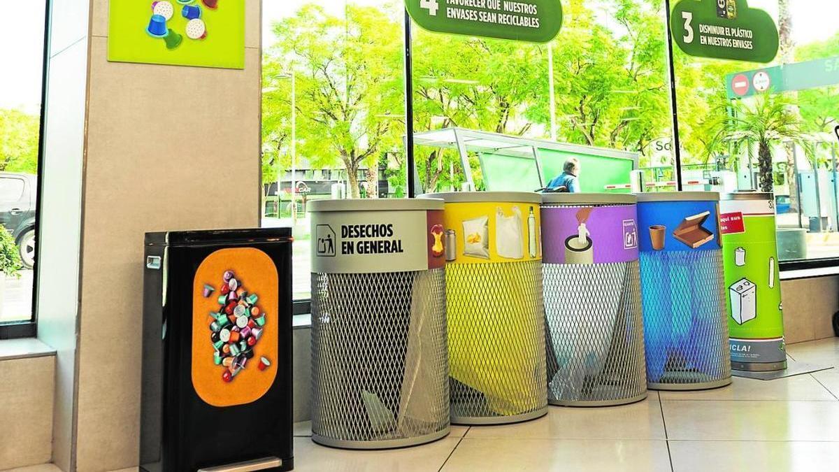 Nuevo contenedor de cápsulas de café de Mercadona.