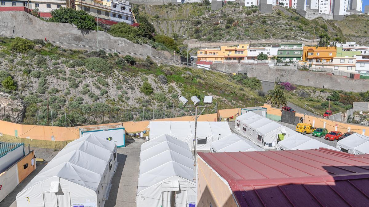 Inmigrantes en Barranco Seco