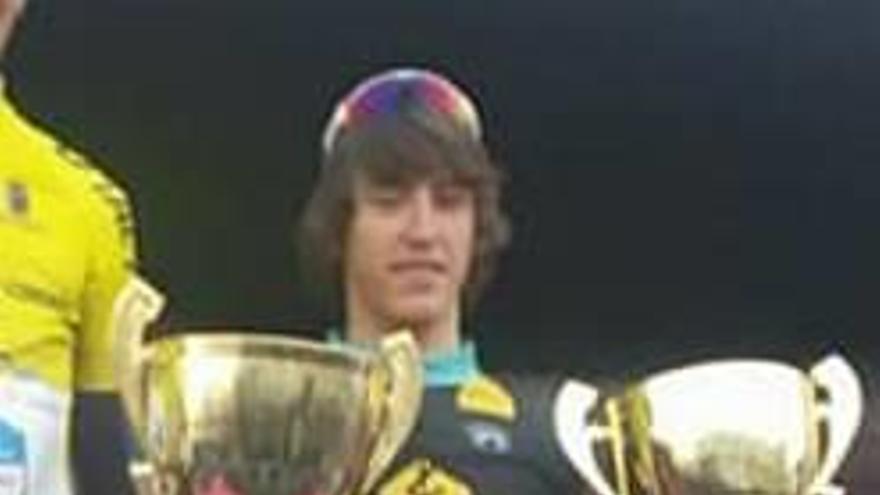 Miquel López sube al podio en la 1.ª prueba nacional