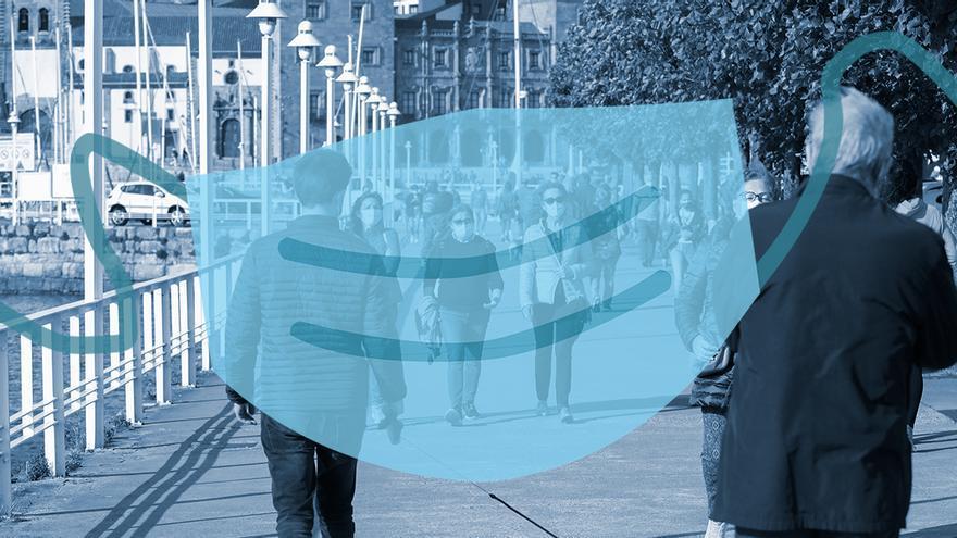 La letra pequeña del uso de las mascarillas en Asturias: en el exterior no siempre se podrán quitar