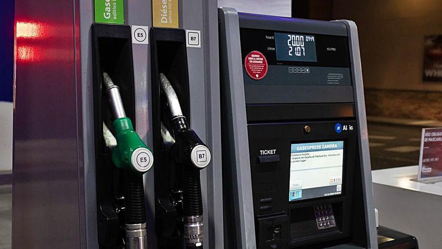 Casi el 10% de las gasolineras de Zamora ya funcionan sin personal