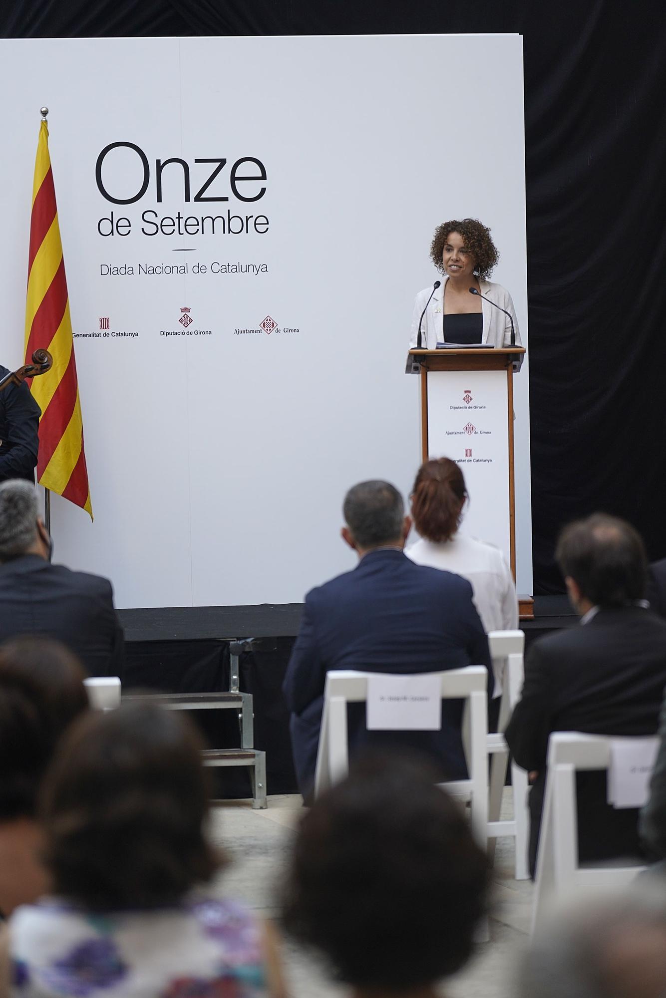 L'acte institucional de la Diada de Catalunya a Girona