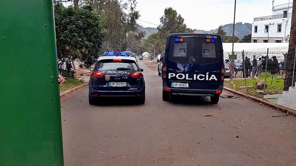 Detenido por amenazas a vigilantes y personal de la ONG Accem