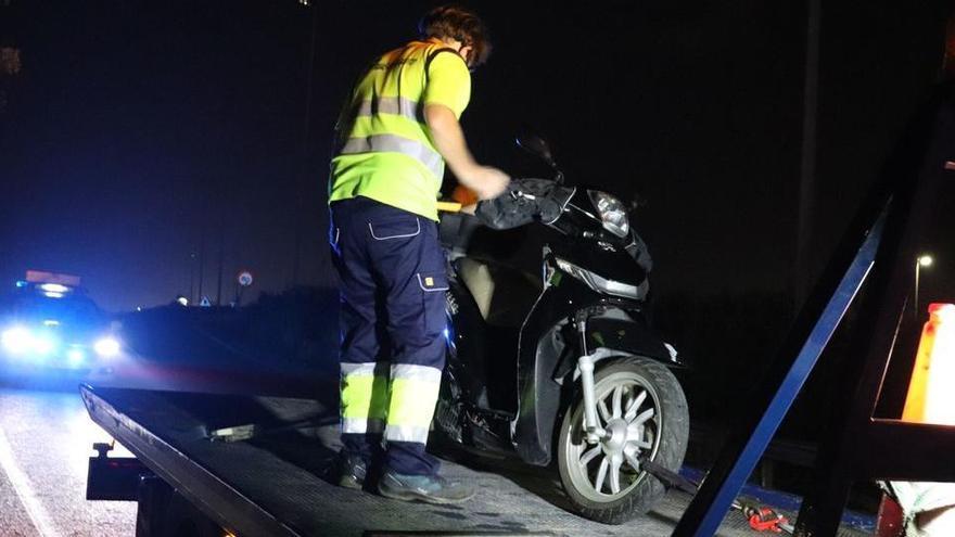 Varios conductores evitan que un hombre arroje a la autovía a su mujer en Valencia