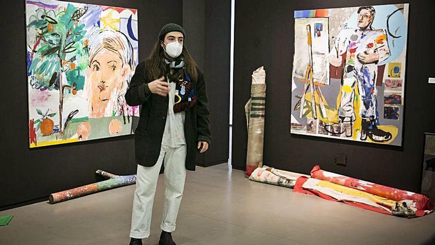 Los mundos artísticos de Manu García toman la sala Borrón