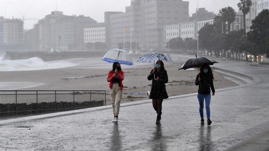 Galicia quedará bajo influencia de una borrasca