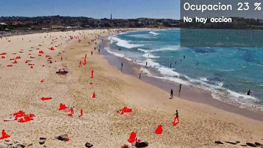Cámaras con 4G para controlar el aforo de las playas