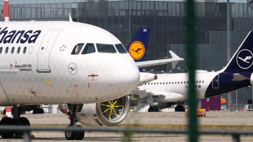Lufthansa pierde 2.100 millones de euros