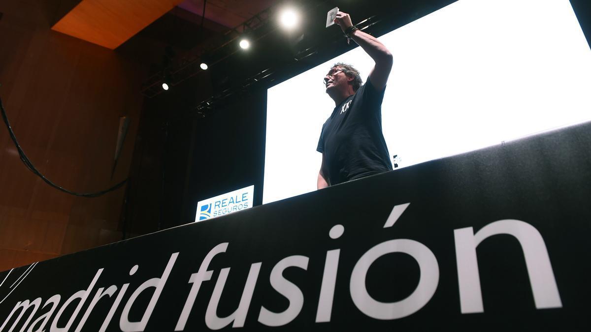 Masterclass durante una edición de Madrid Fusión.