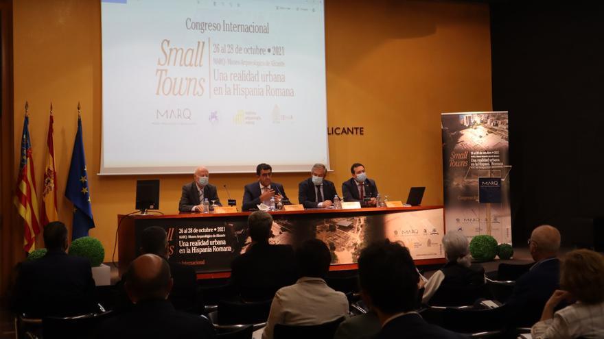 El MARQ acoge un congreso sobre el papel de las pequeñas ciudades en el proceso de romanización