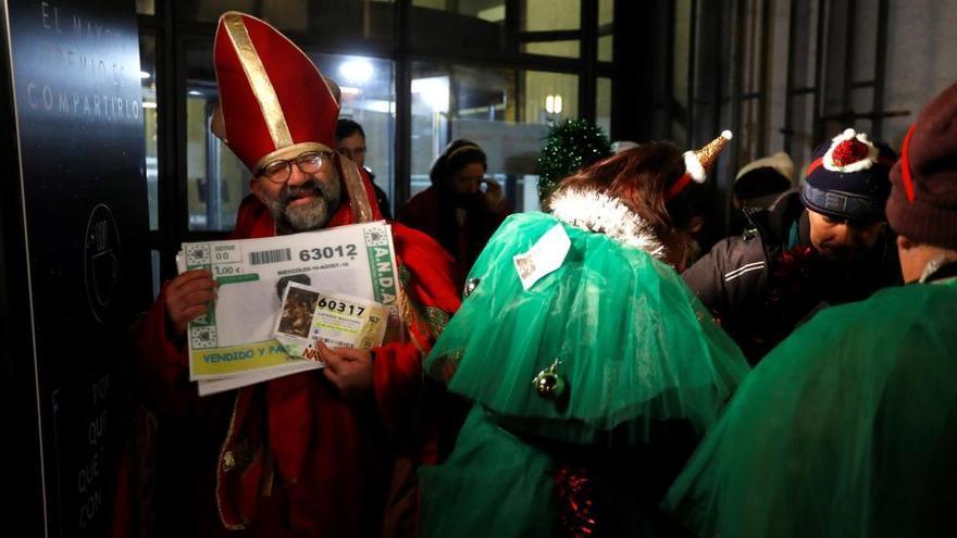 Les disfresses, un clàssic en el sorteig de la Loteria de Nadal