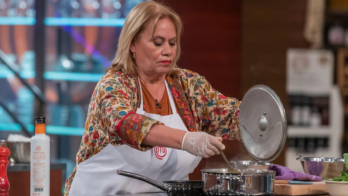 Carmina Barrios en 'Masterchef Celebrity'.
