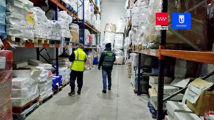 Detenidas 14 personas tras la incautación de 122.000 kilos de productos cárnicos