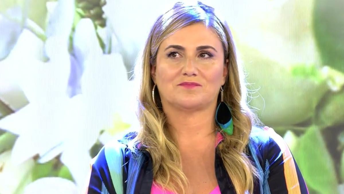 Carlota Corredera en 'Sálvame'.