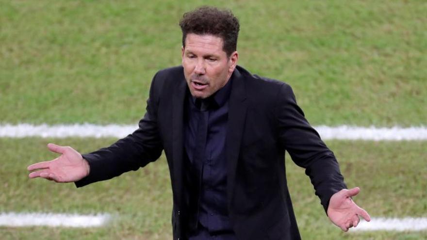El técnico Diego Pablo Simeone.