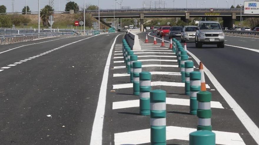 El nuevo ramal de la autovía A-4 quedará abierto al tráfico el sábado