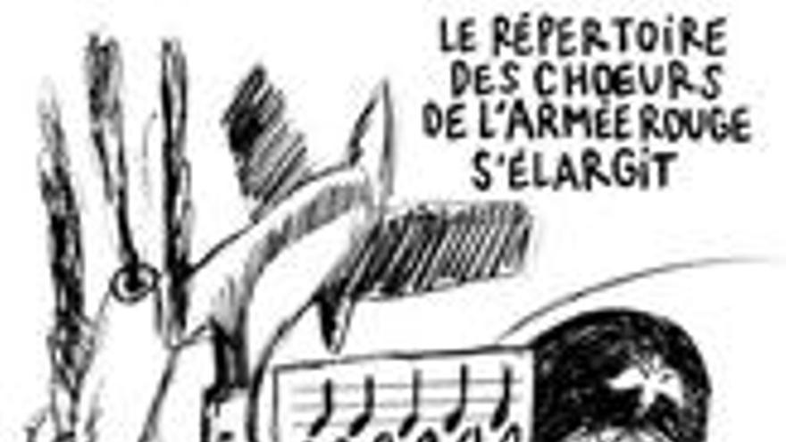 Rusia critica la viñeta de 'Charlie Hebdo' sobre el siniestro del avión Tu-154