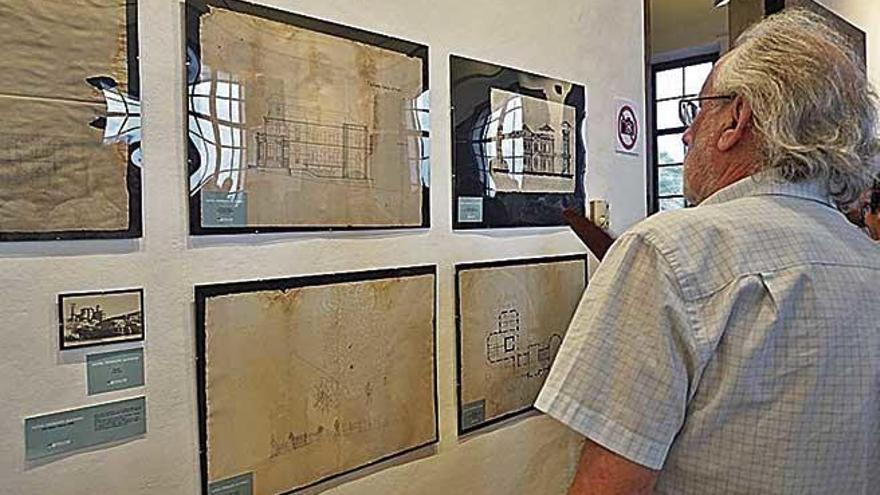 Dibujos inéditos de Bennazar, en el colegio de Arquitectos