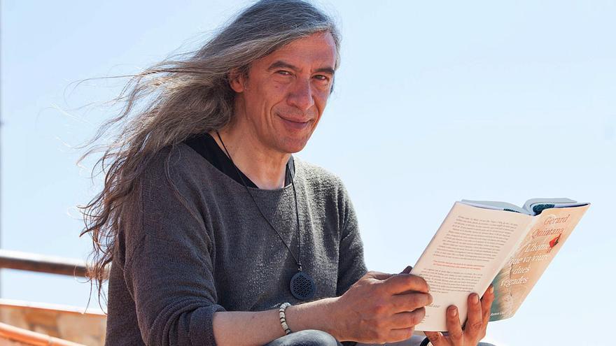 Gerard Quintana: «De niño no me atrevía a decir que quería ser escritor, me parecía pretencioso»
