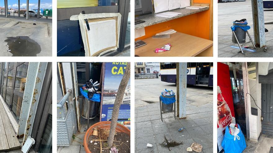 Una estación de bus de la que avergonzarse