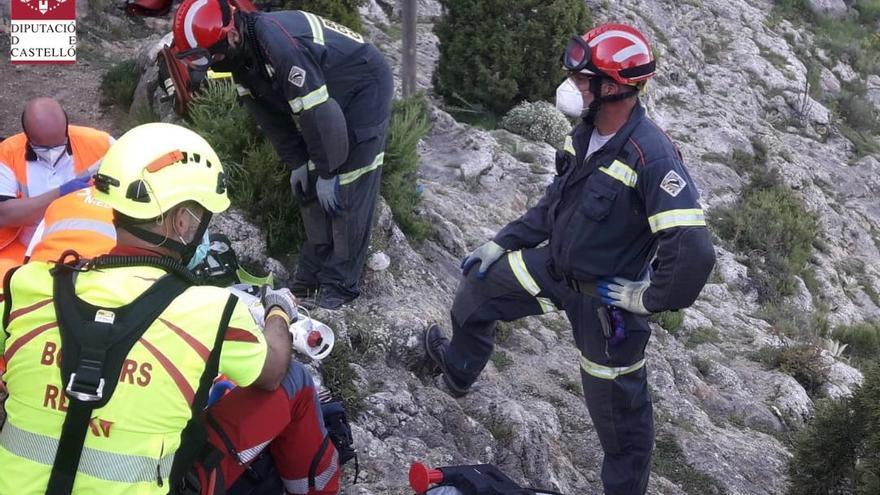 Fallece un senderista tras entrar en parada en Pina de Montalgrao