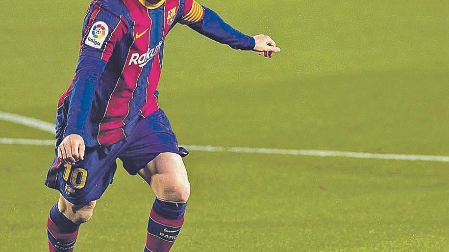 El nuevo contrato de Messi: 5 años y mitad de salario